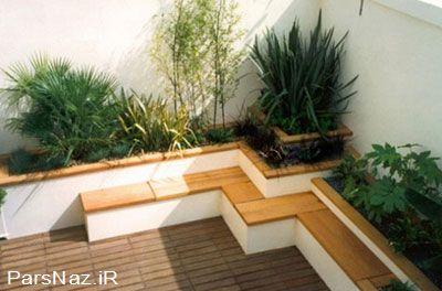 مدل هایی برای طراحی باغچه و حیاط