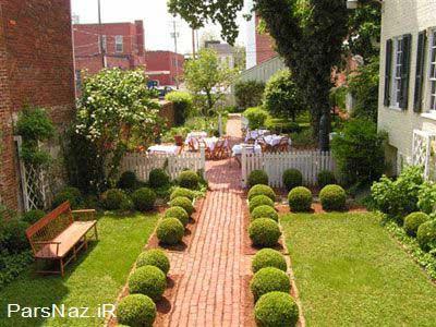 مدل هایی برای طراحی باغچه و حیاط4