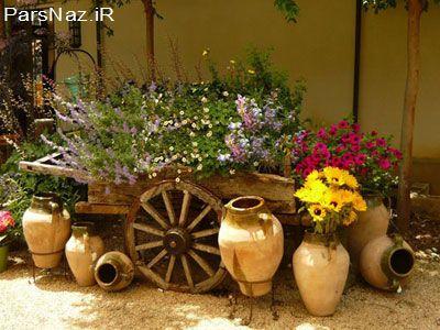 مدل هایی برای طراحی باغچه و حیاط7