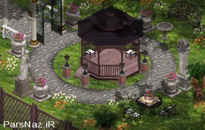 مدل هایی برای طراحی باغچه و 2