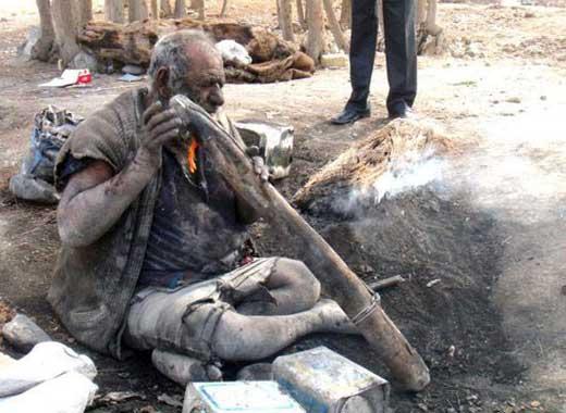 عکسی از کثیف ترین مرد ایرانی