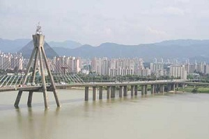 پل خودکشی عشاق  در کره جنوبی|www.rahafun.com|