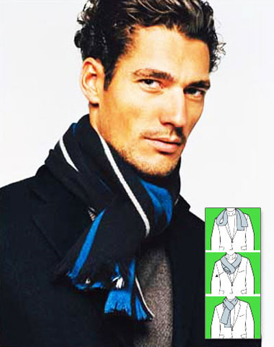 مدل های بستن شال گردن مردانه|www.rahafun.com|