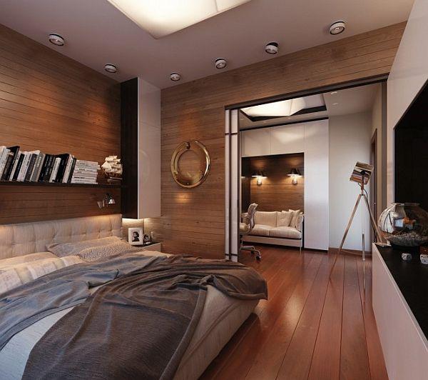 معماری و دکوراسیون داخلی اتاق خواب |www.rahafun.com|