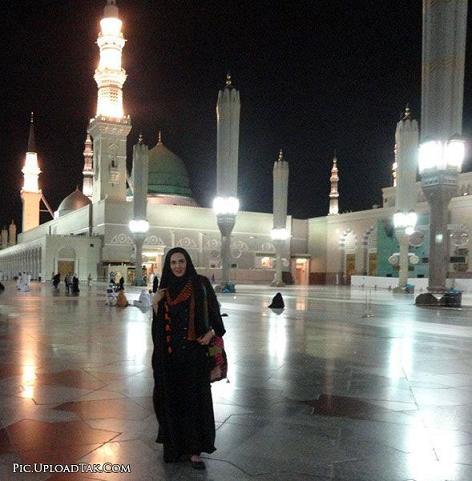 عکس های لیلا بلوکات و خاطره حاتمی در مکه