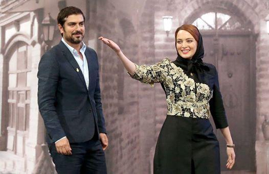 عکس جدید  بهنوش طباطبایی و همسرش مهدی پاکدل