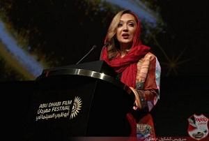 ظاهر عجیب نیکی کریمی در جشنواره ابوظبی! + تصاویر|www.rahafun.com