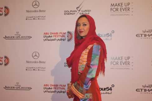 ظاهر عجیب نیکی کریمی در جشنواره ابوظبی|www.rahafun.com