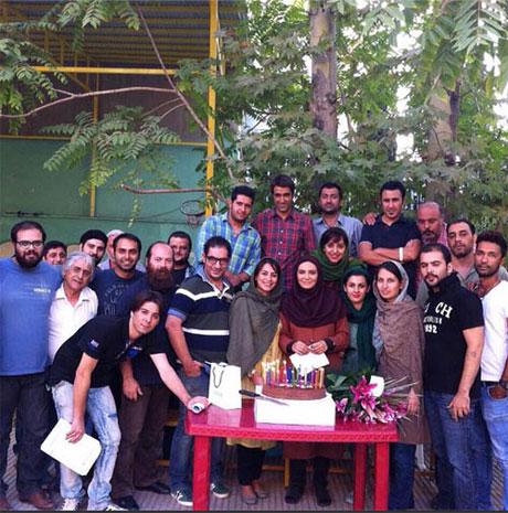 عکس های دیدنی و زیبا  از جشن تولد 34 سالگی لیندا کیانی