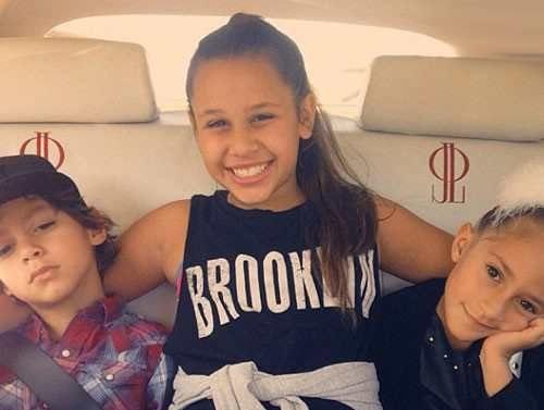عکس جنیفر لوپز و دخترش بعد از تصادف در اینستاگرام