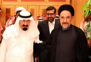 ملک عبدالله به خاتمی: تو غلط می کنی؛ باید بیایی!|www.rahafun.com