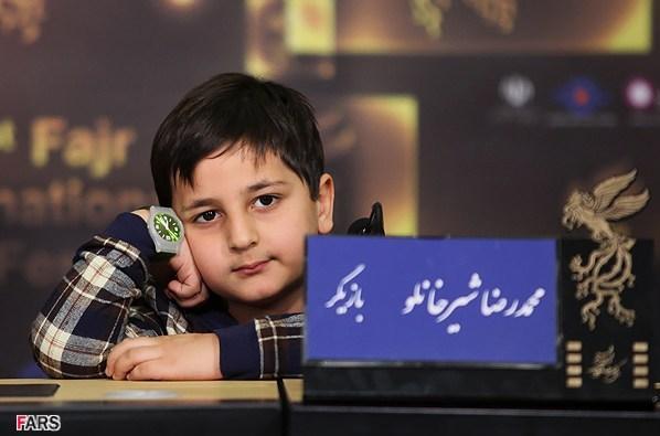 محمدرضا شیرخانلو بازیگر نوجوان ایرانی