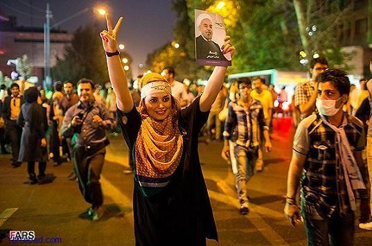13920325225401890 PhotoL عکس های شادی طرفداران دکتر روحانی