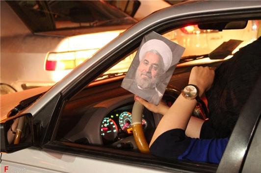 13920326000029 PhotoL عکس های شادی طرفداران دکتر روحانی