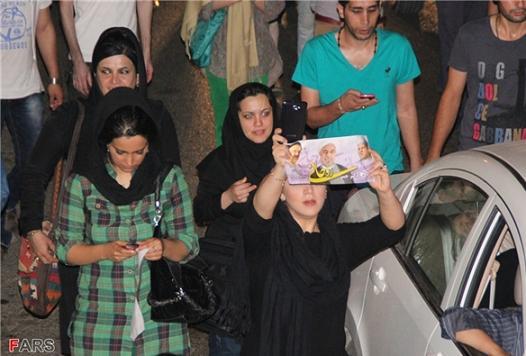 13920326000054 PhotoL عکس های شادی طرفداران دکتر روحانی