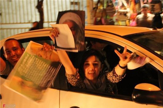 13920326000074 PhotoL عکس های شادی طرفداران دکتر روحانی