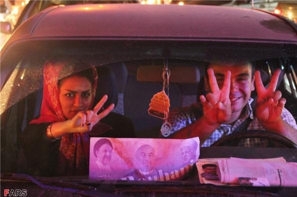 13920326000083 PhotoL عکس های شادی طرفداران دکتر روحانی