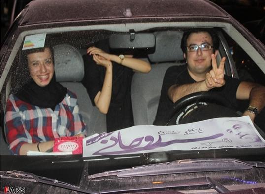 13920326000085 PhotoL عکس های شادی طرفداران دکتر روحانی