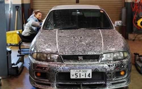 ایده نقاشی روی خودرو توسط این زن خبرساز شد