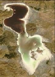 جدیدترین عکس از دریاچه ارومیه|www.rahafun.com