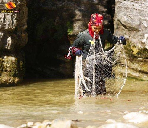 عکس الناز شاکردوست در حال ماهیگیری,عکس بازیگران