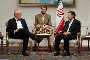 واکنش احمدی نژاد به بی ادبی سفیر|www.rahafun.com