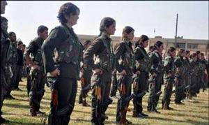 زنانی که از تروریستهای داعش ترسی ندارند