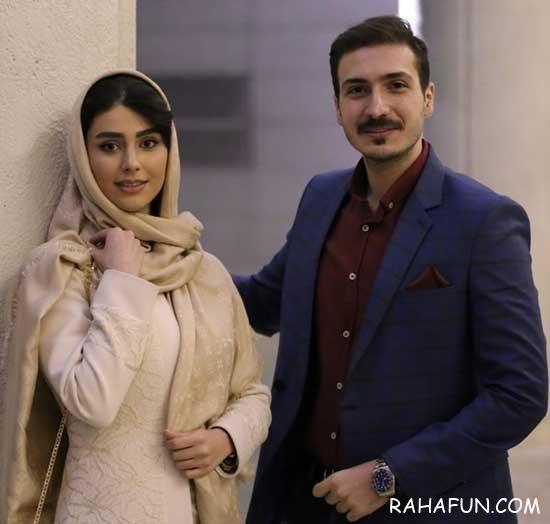 لاله مرزبان و همسرش