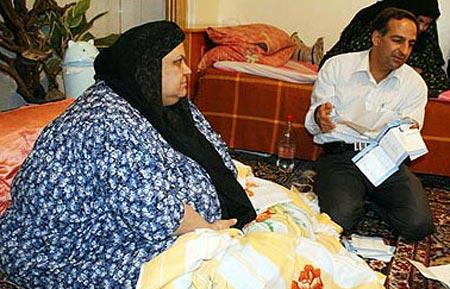 چاق ترين زن ايران|www.rahafun.com|