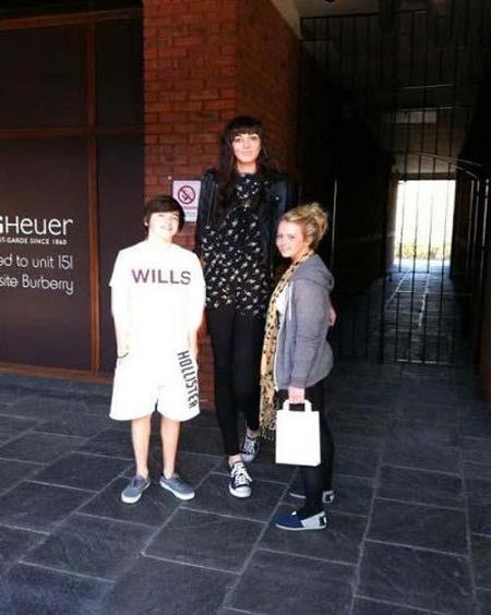 241 10 عکس بلندترین دخترهای جهان
