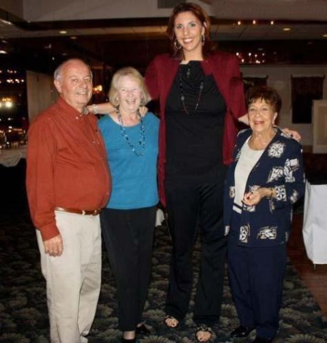 241 2 عکس بلندترین دخترهای جهان