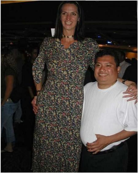 241 3 عکس بلندترین دخترهای جهان