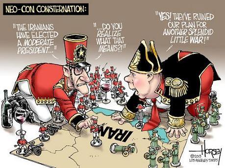 کاریکاتور آمریکایی ها درباره انتخاب روحانی