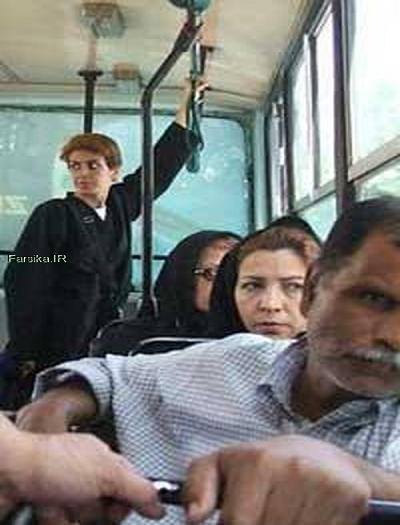 کشف حجاب زن خودفروخته در تهران