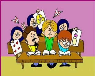 طرز فکر دانشجویان جدید و ترم آخری (طنز)|www.rahafun.com