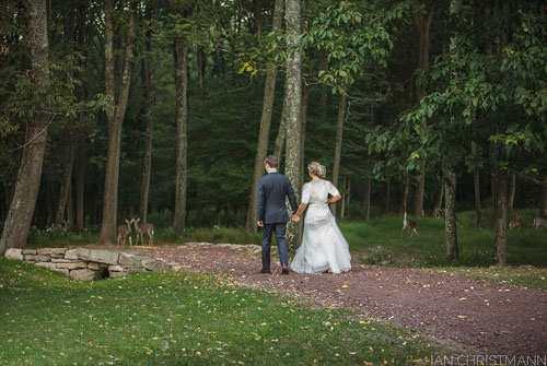 صحنه ناگهانی و جالب در زمان عکس گرفتن در روز عروسی
