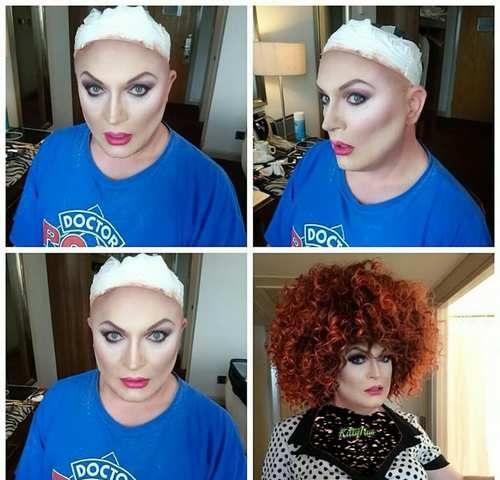 عکس های معلمی با چهره دو جنسه