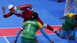 اتفاق جالب در بازی کبدی بانوان ایران و هند