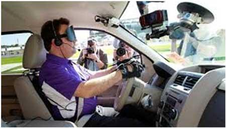 خودرو جالب برای نابینایان