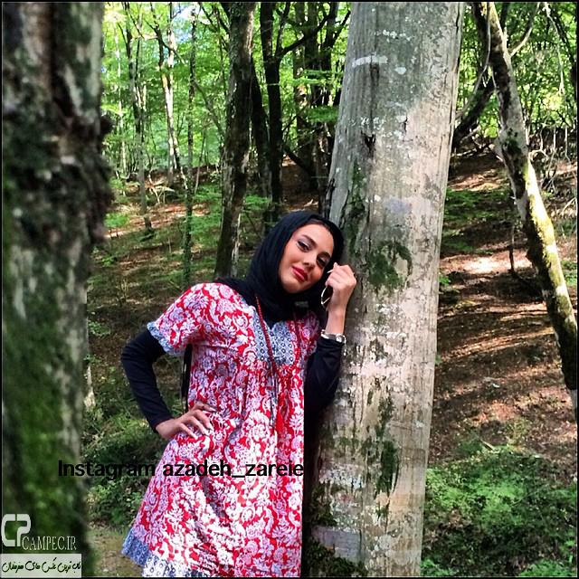 عکس های جذاب و دیدنی آزاده زارعی آبان ۹۳