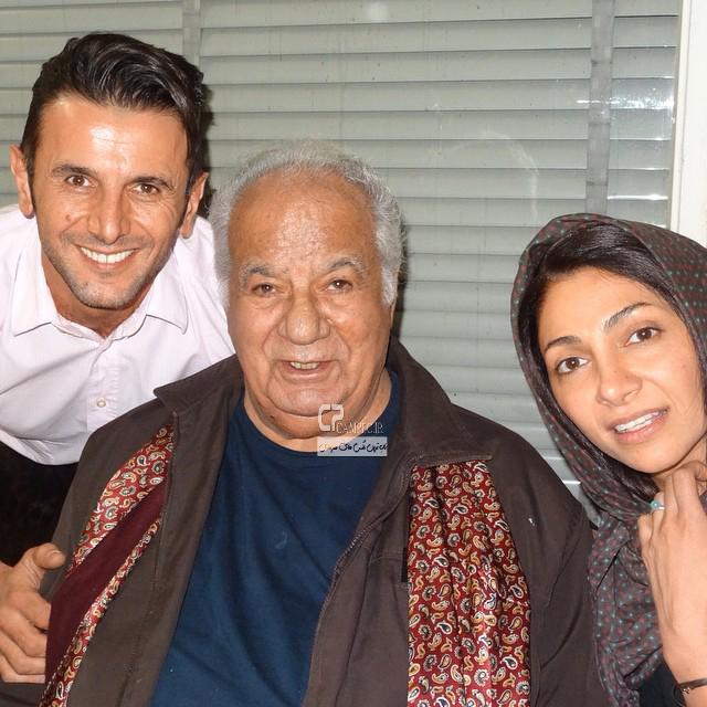 Bazigaran 4905 2 عکس های جذاب و دیدنی بازیگران با همسرانشان آبان ۹۳