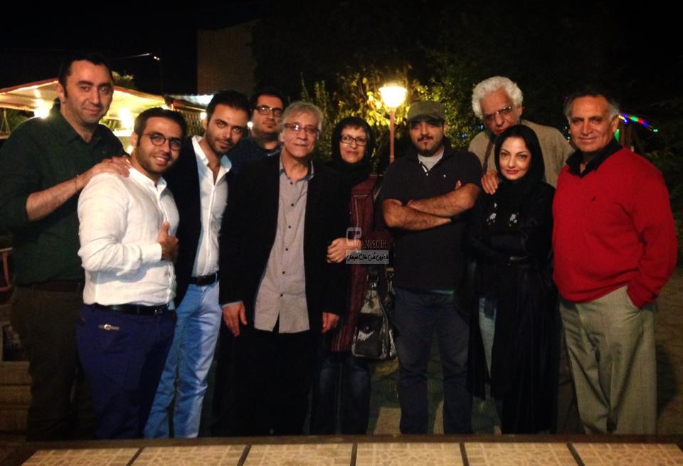 Bazigaran 4905 6 عکس های جذاب و دیدنی بازیگران با همسرانشان آبان ۹۳