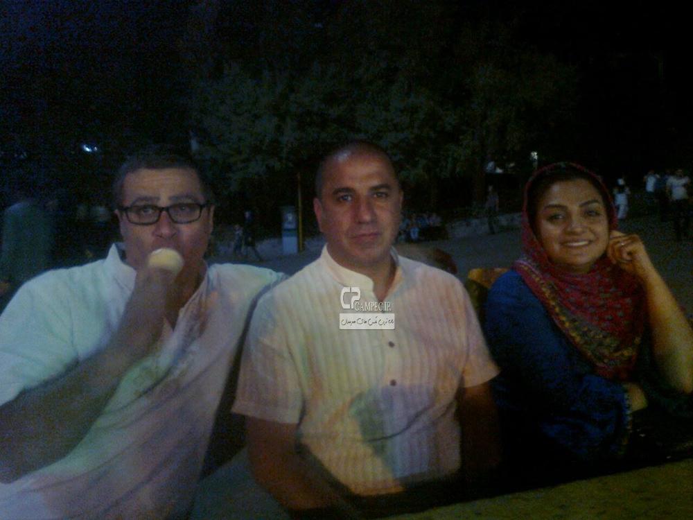 عکس های جذاب و دیدنی بازیگران با همسرانشان آبان ۹۳