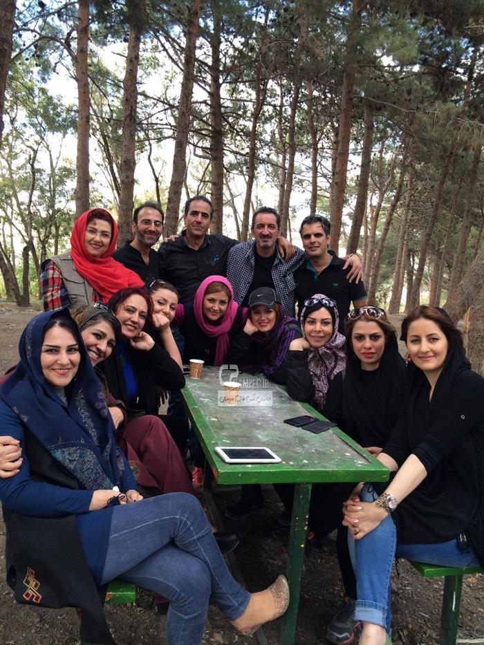 عکس های جذاب و دیدنی فلور نظری آبان ۹۳