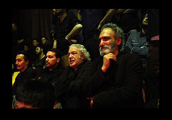 Heyat Bazigaran  3 عکس جدید بازیگران و مجریان ایرانی در هیئت های محرم 93