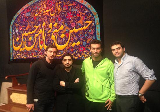 Heyat Bazigaran  71 عکس جدید بازیگران و مجریان ایرانی در هیئت های محرم 93