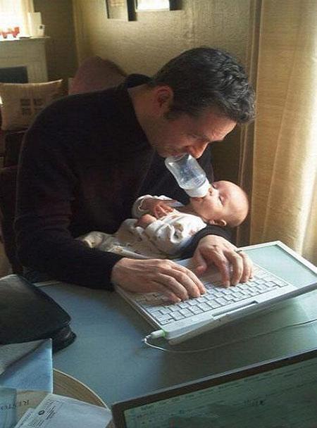سایت عکس,عکس های خنده دار پدرها و پسرها