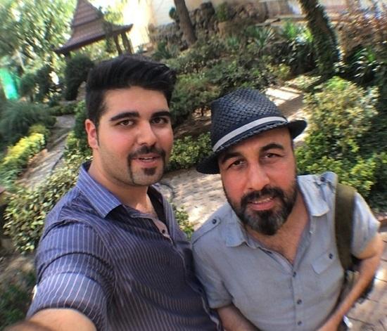 عکس های جدید رضا عطاران تابستان 93