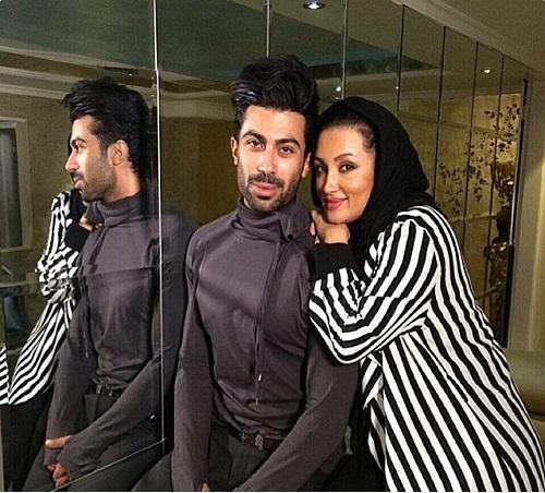 عکس های جدید روناک یونسی و همسرش