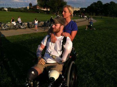 زندگی عاشقانه سرباز آمریکایی پس از مجروحیت